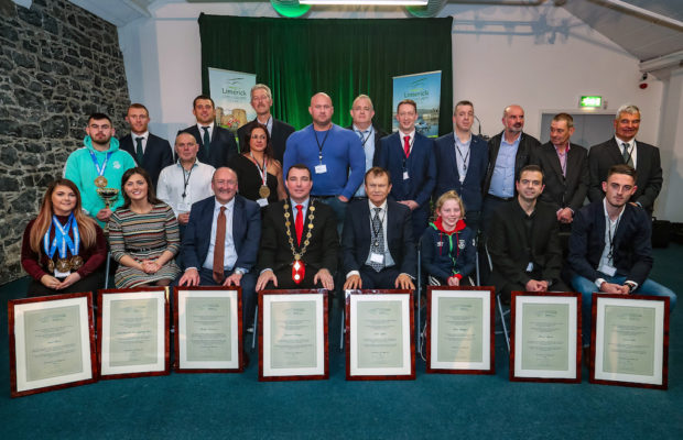 Limerick International Sporting Achievements