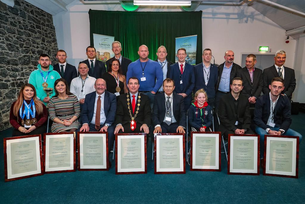Limerick International Sporting Achievements
