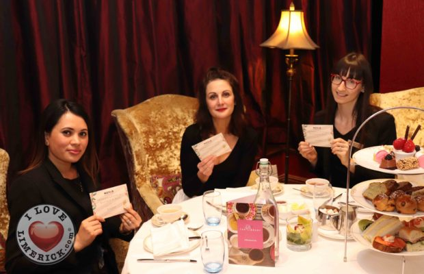 Novas sparkling afternoon tea