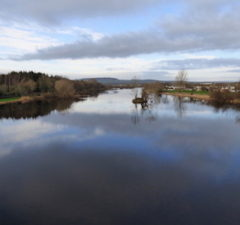 Scenic view of the River Shannon