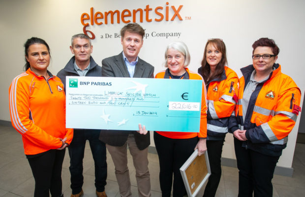 Element Six fundraiser
