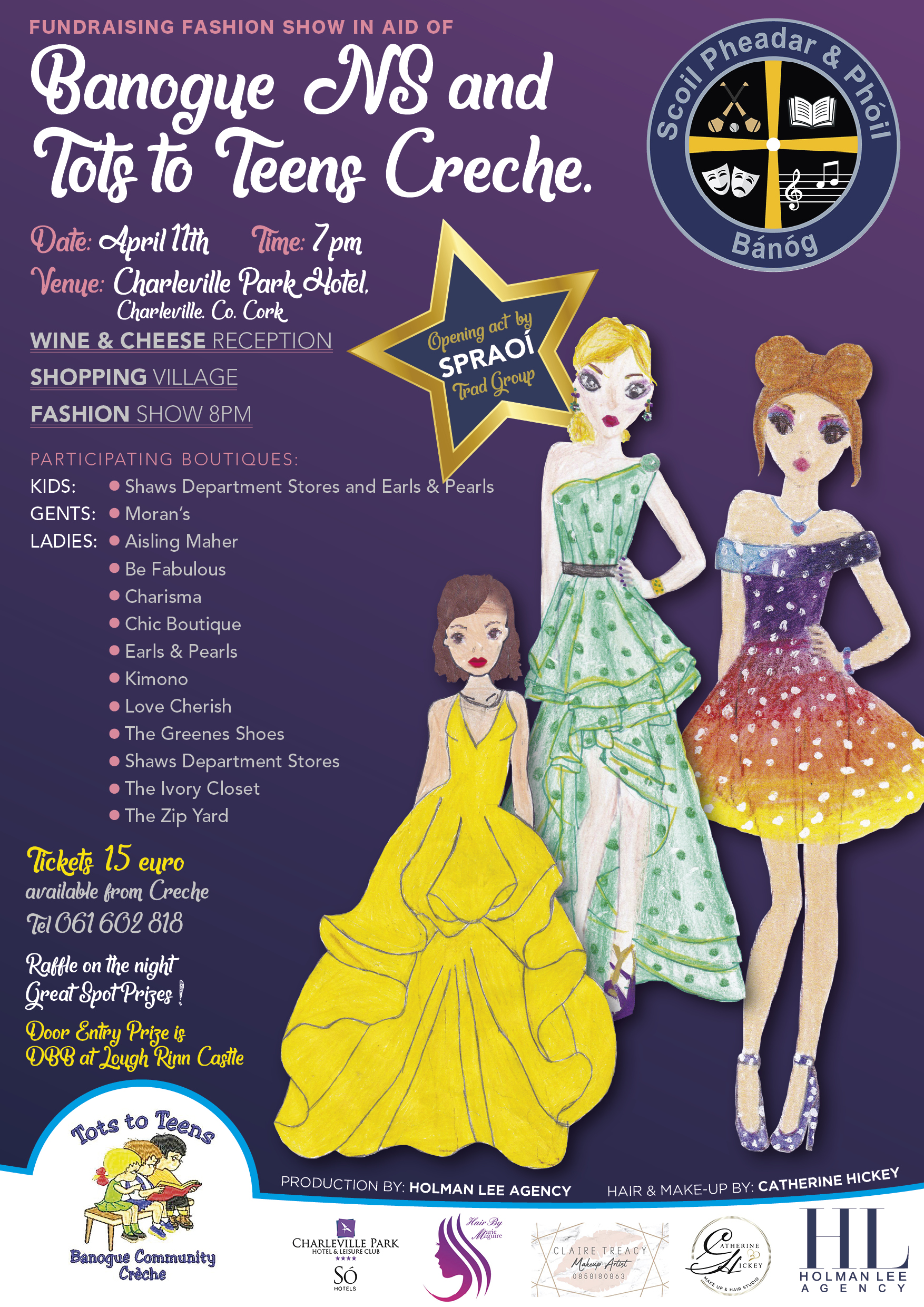 Banogue National School Fashion Show Fundraiser 2019