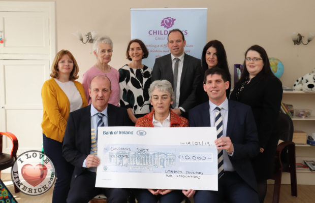 grief centre receive donation