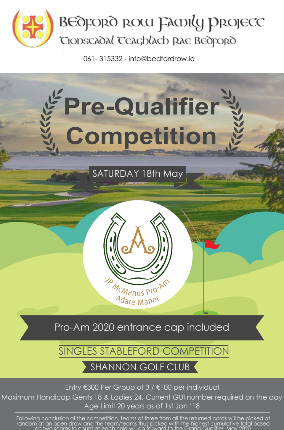 Pre-Qualifier Golf Competition