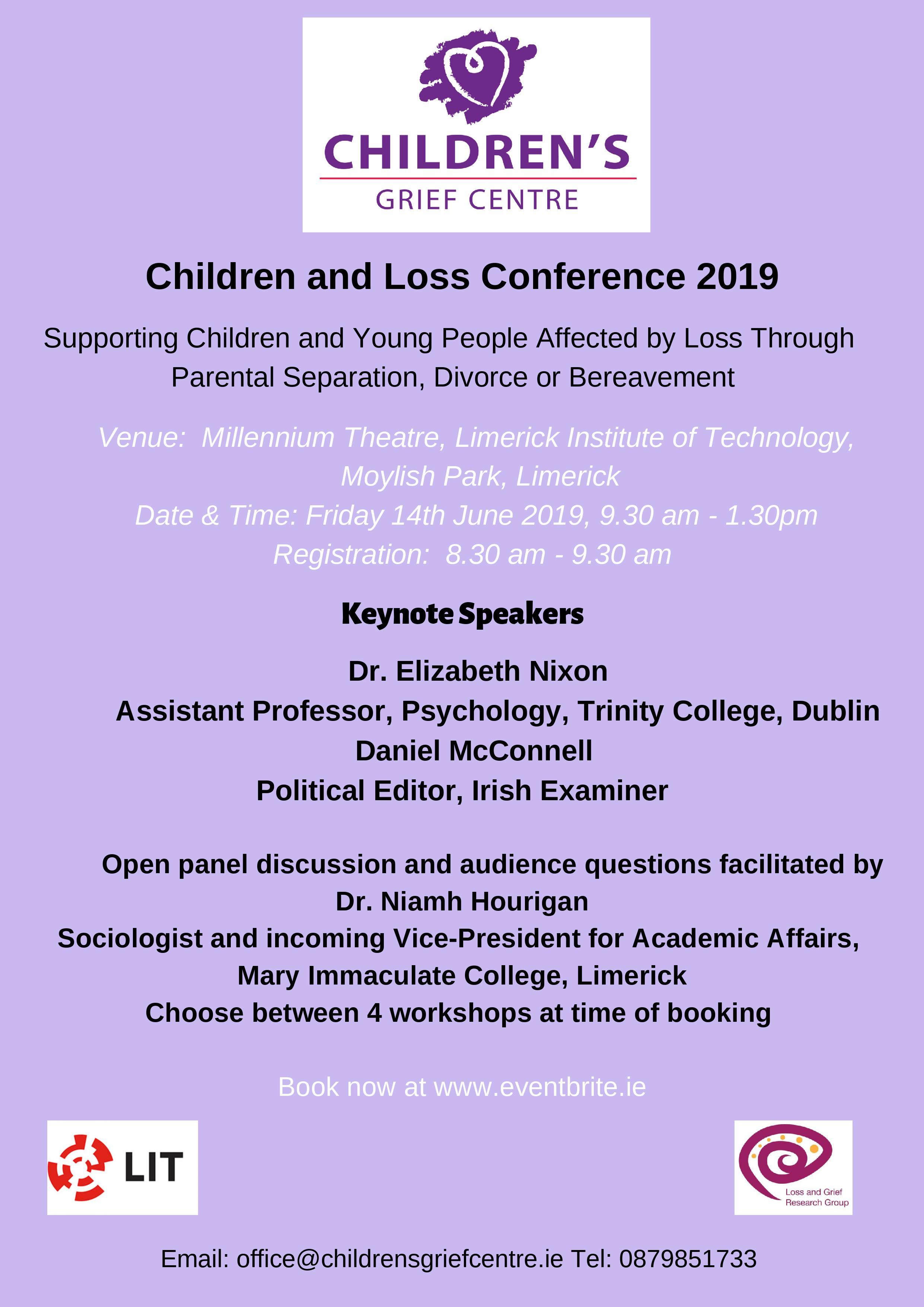 Children and Loss Conference