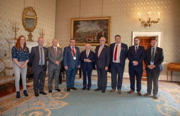 President Higgins Limerick Soviet
