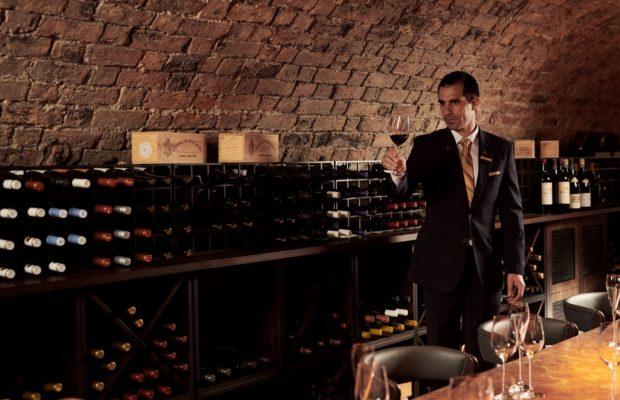 Adare Manor wine tasting