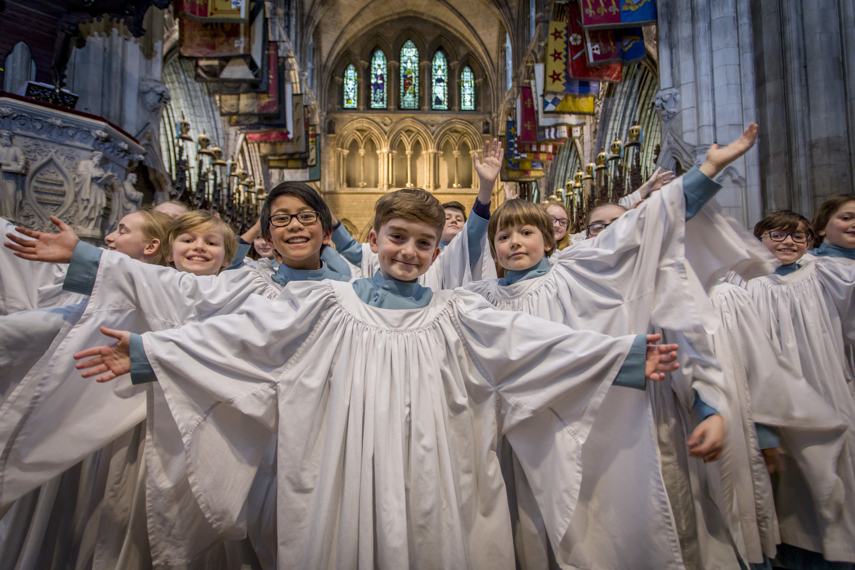 Choir of St. Patrick`s Cathedral Dublin