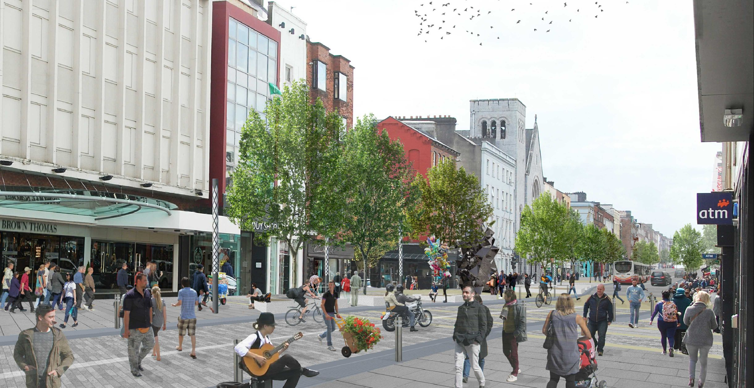 O Connell Street Revitalisation Project