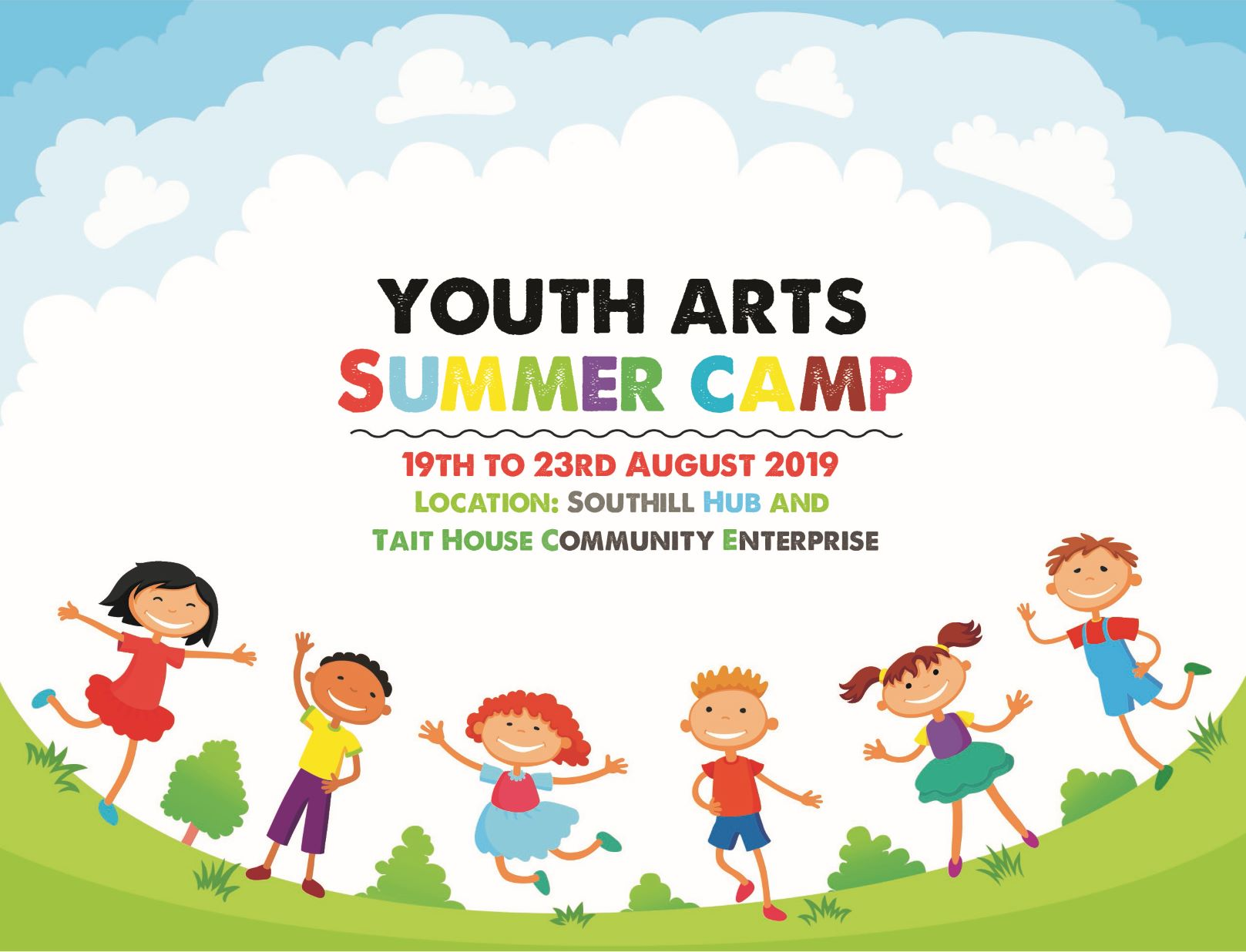 Southill Youth Arts Summer Camp