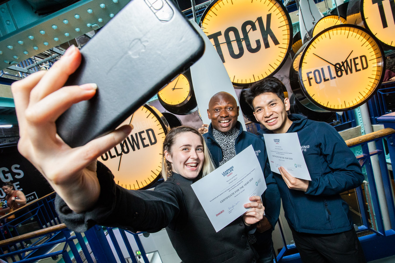 A number of refugees and asylum seekers are among the latest 25 graduates of Diageo Ireland's Learning for Life programme who received their certificates in a special ceremony, held at the Guinness Storehouse today.