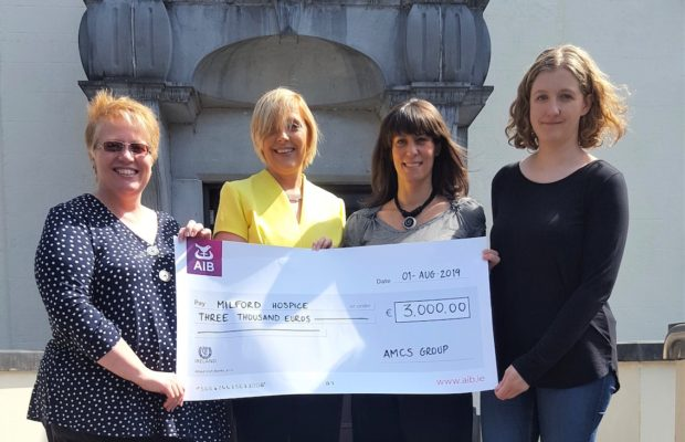 AMCS support Milford Hospice