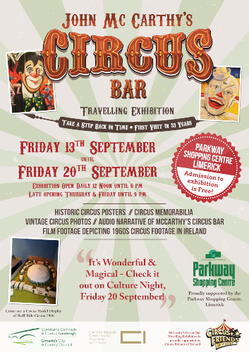 John McCarthy Travelling circus bar