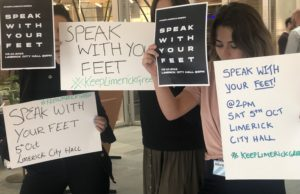 Speak with your Feet