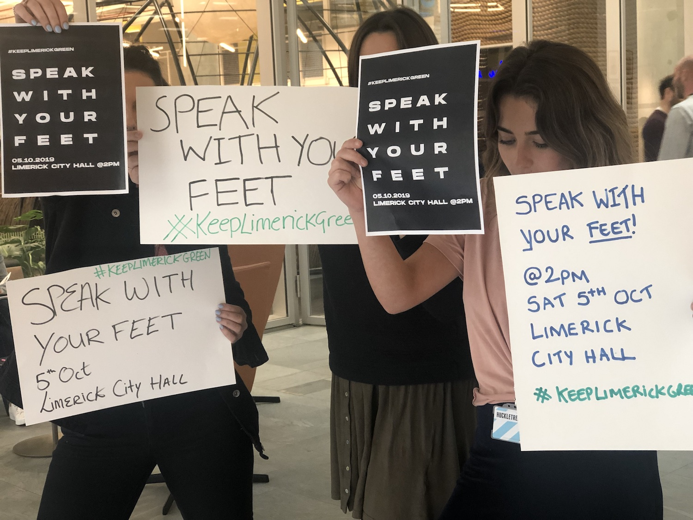 Speak with your Feet
