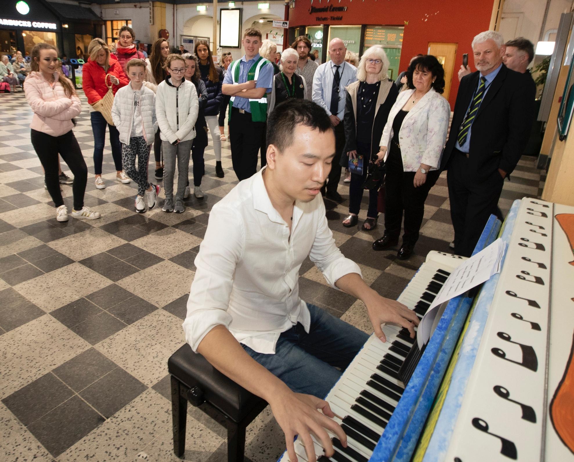 Colbert Station Permanent Piano