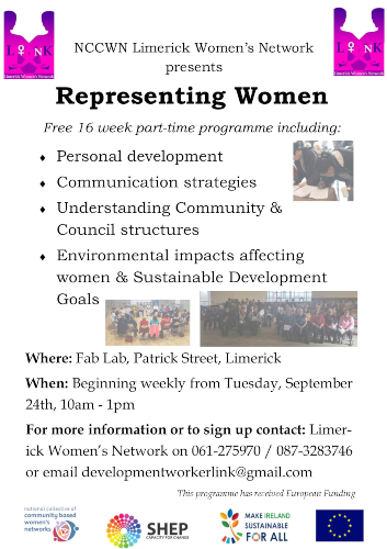 Limerick women's network presents Representing Women