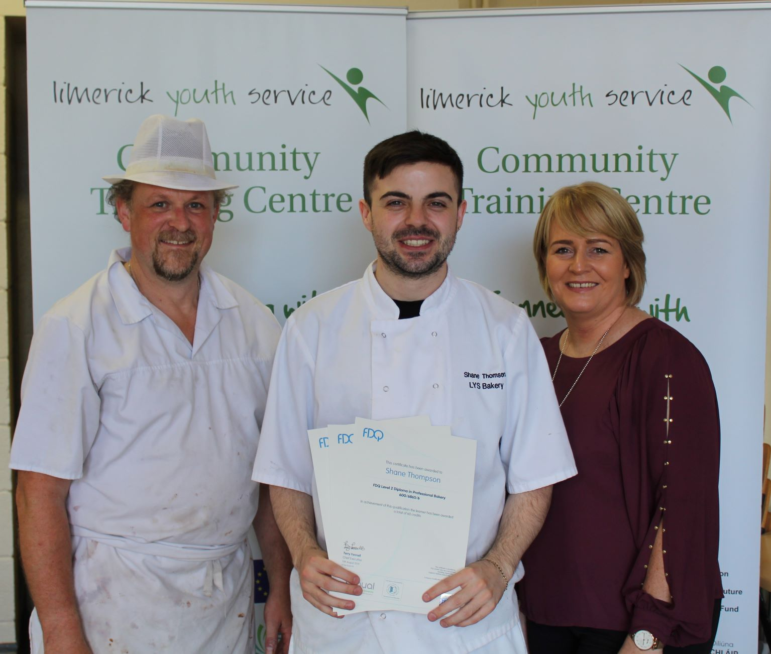 Limerick Youth Service Trainee Bakers