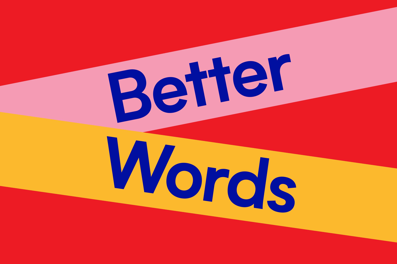 Better Words book