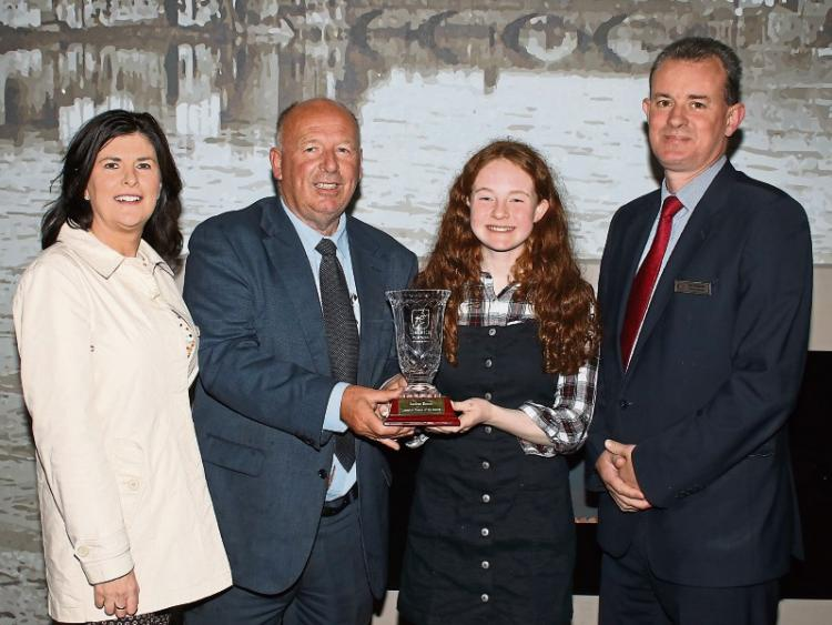 Saoirse Exton wins Limerick Person of the Month award
