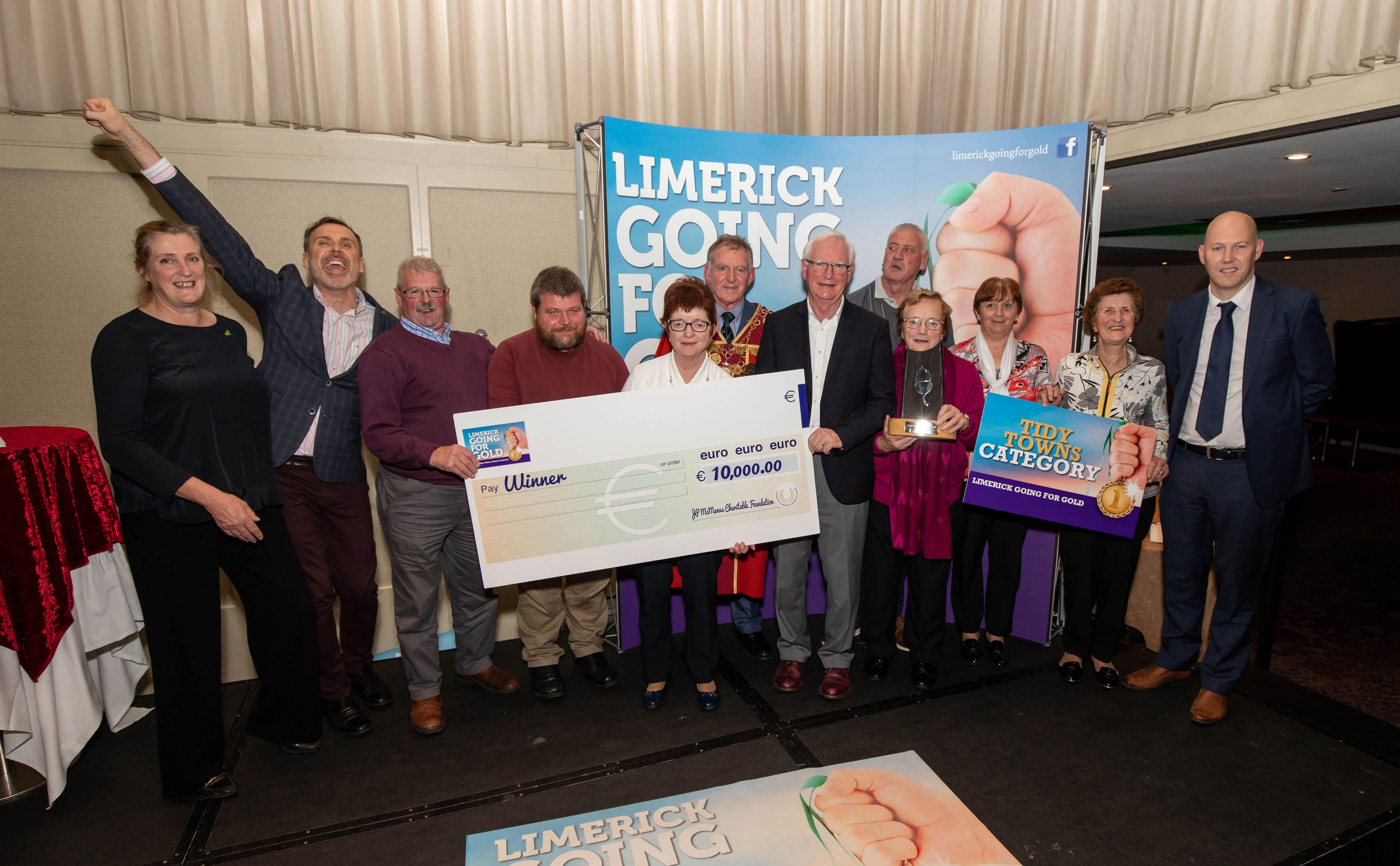 Limerick Going For Gold 2019 winners