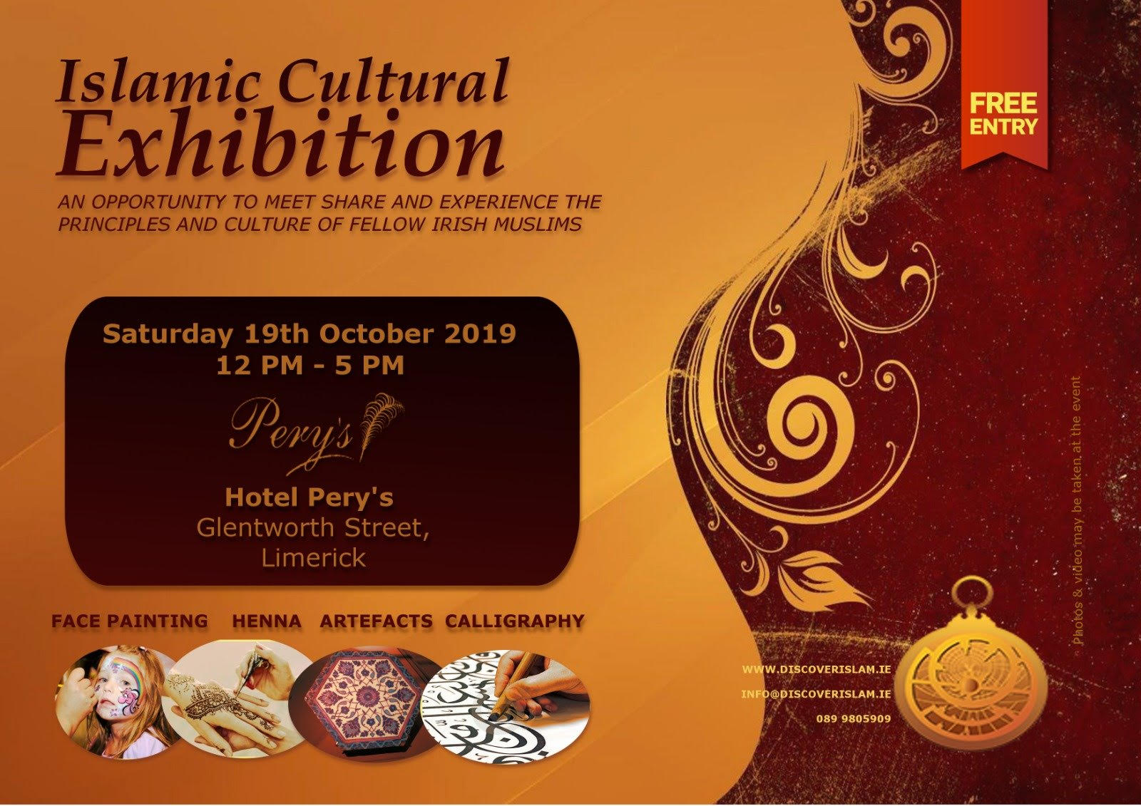 Limerick Islamic Culture Exhibition 2019