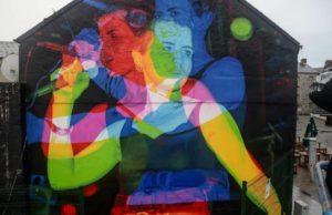 Dolores O'Riordan Mural