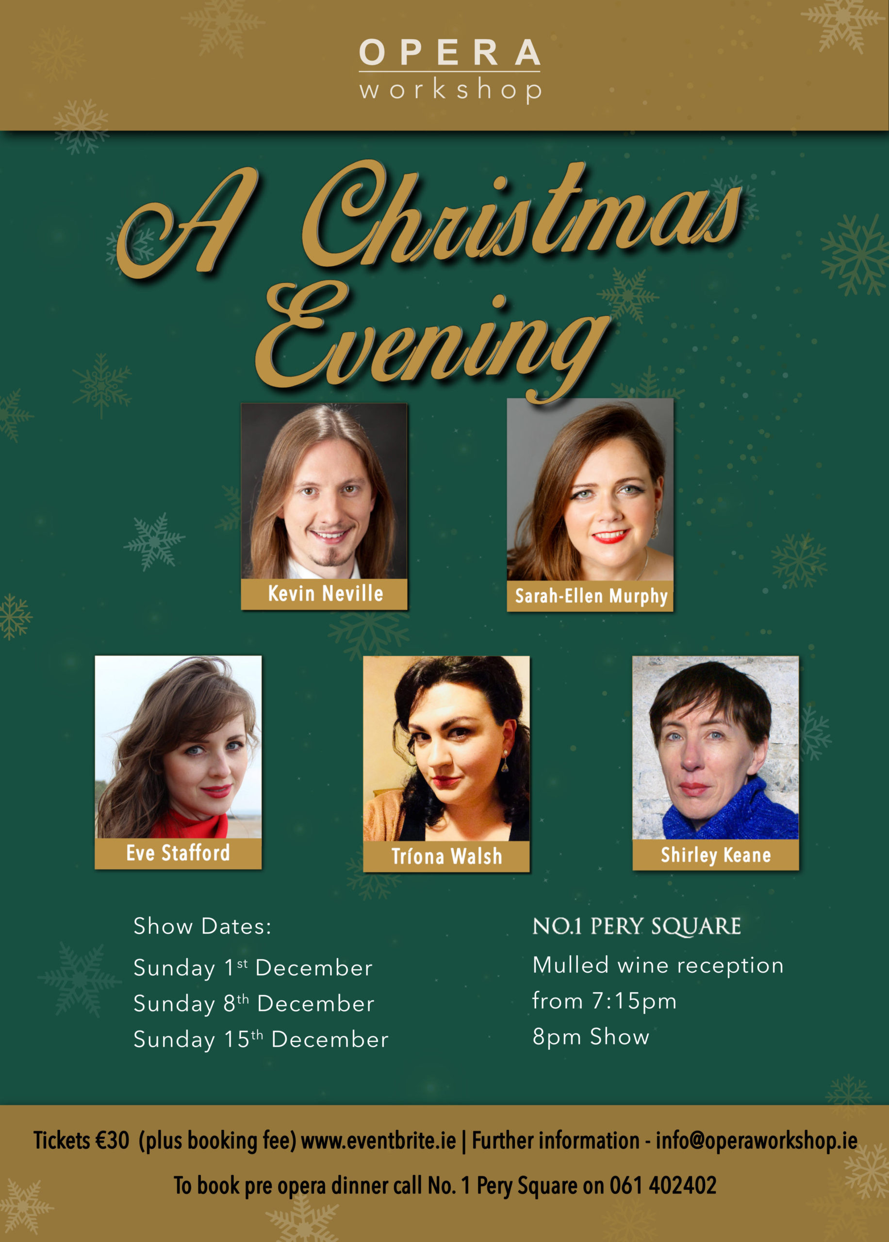 Opera Workshop Christmas Shows 2019