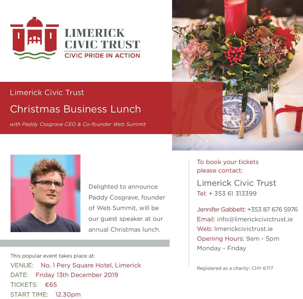 Limerick Civic Trust Lunch