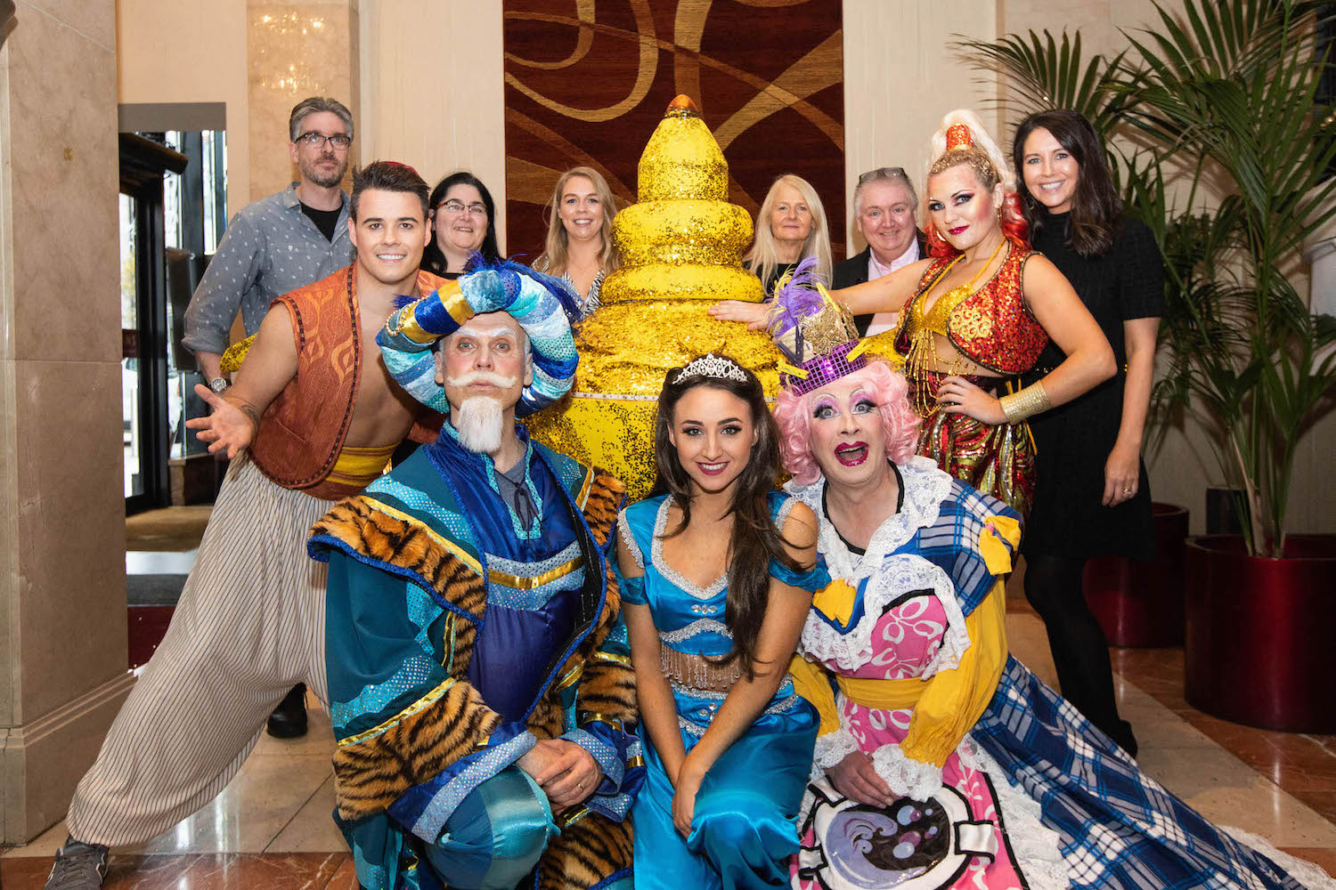 Aladdin at UCH