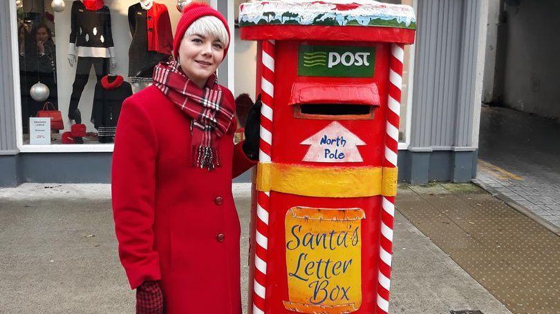 Santa's Christmas Post Box