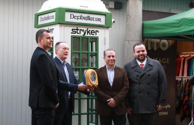 Limerick Milk Market Defibrillator