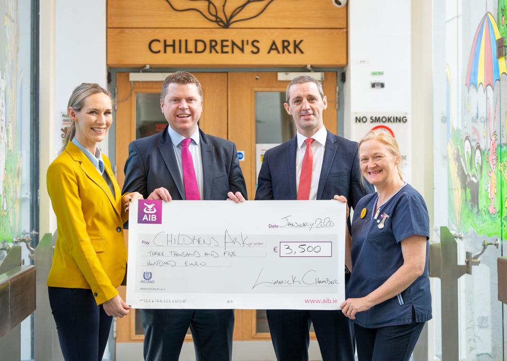 Limerick Chamber Donates