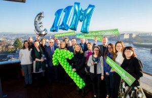 Shannon Bureau reports record growth