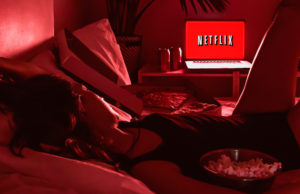 Netflix while social distancing