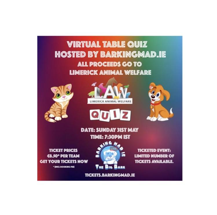 Barking Mad Virtual Quiz
