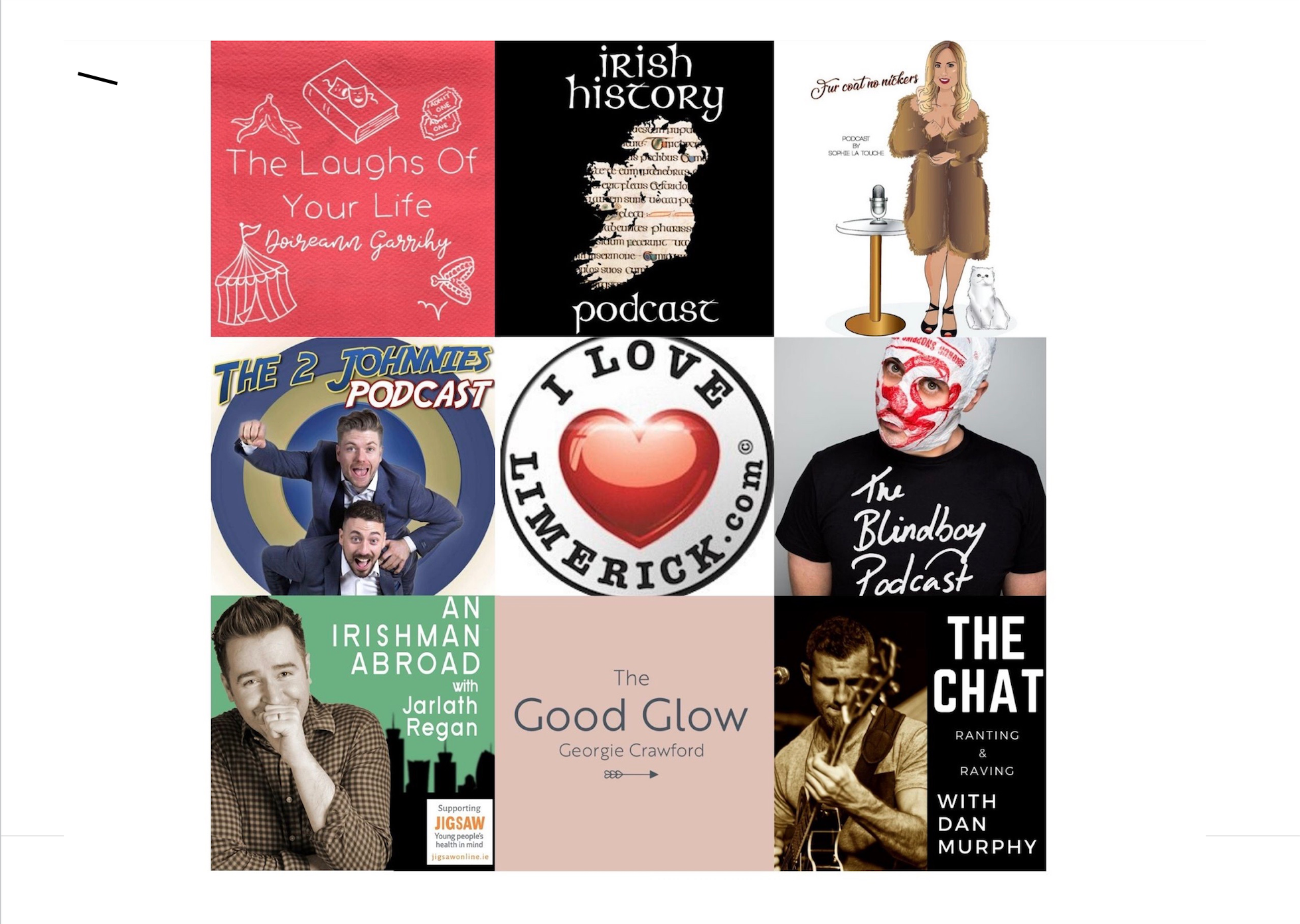 Best Irish Podcasts