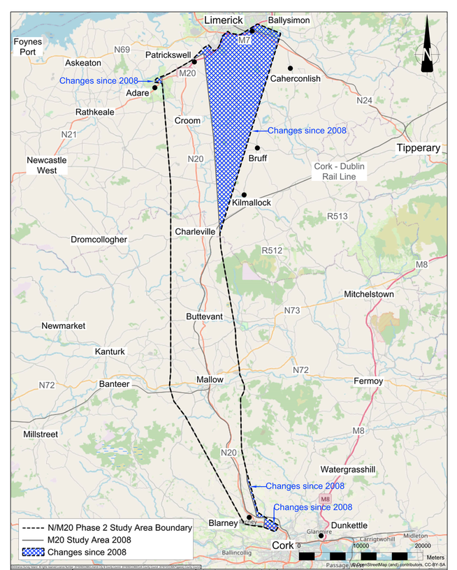 Cork to Limerick