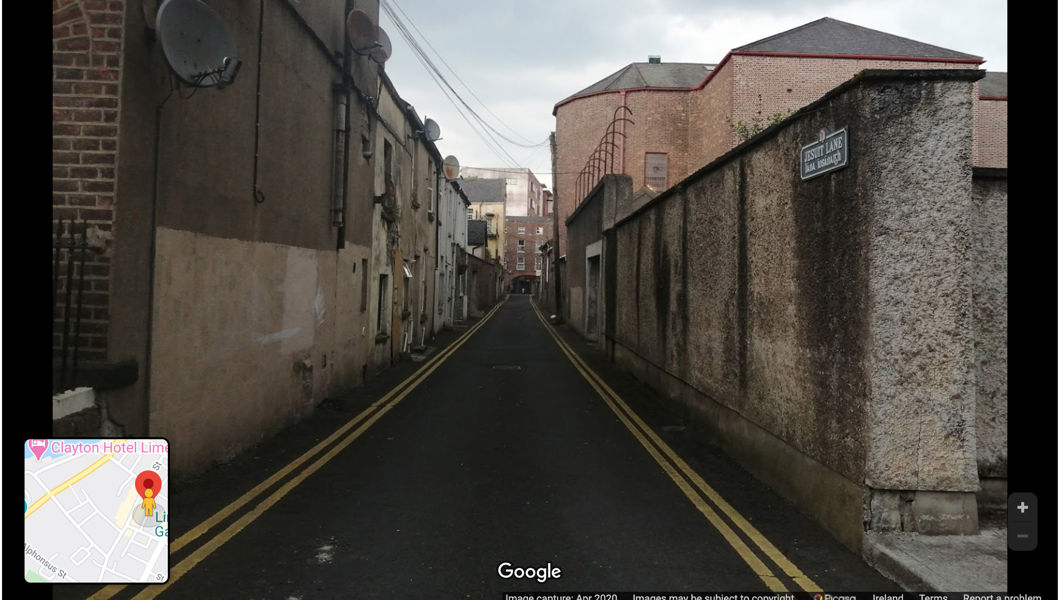 Limerick Georgian Laneways