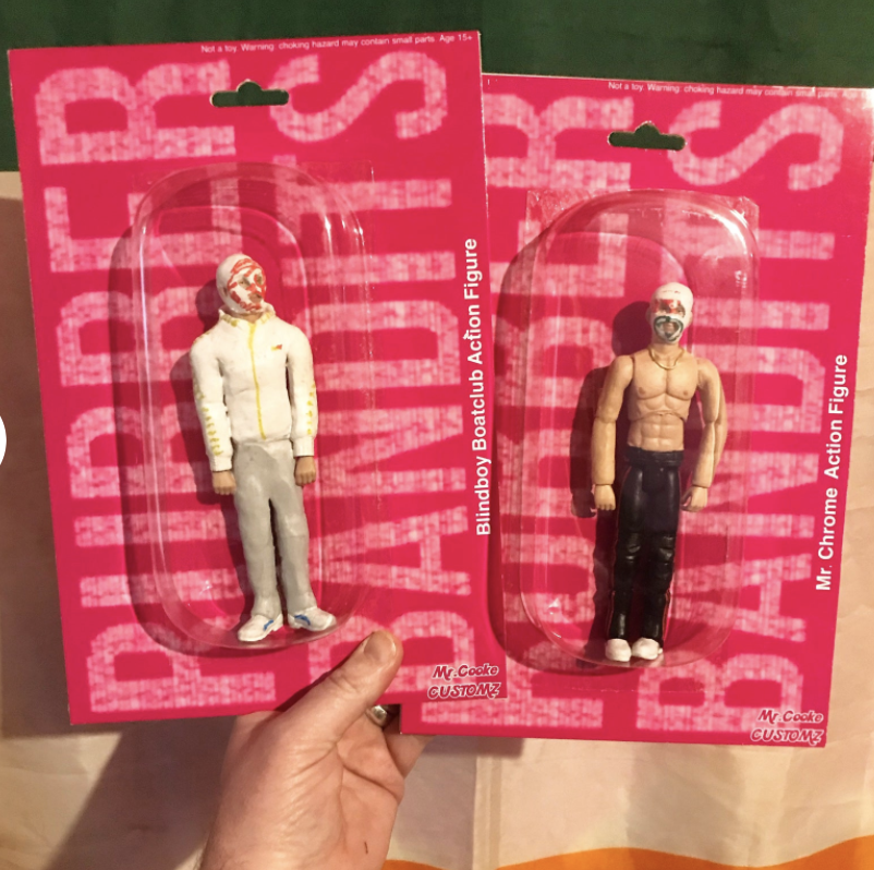 rubberbandits action figures