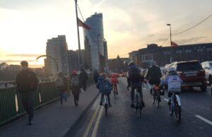 Shannon Bridge cycle lane