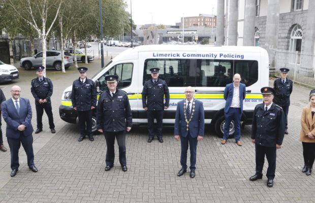 Limerick Community Garda Bus