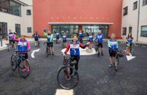 ICU 4 U Charity cycle