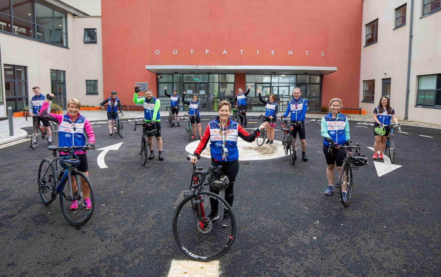ICU 4 U Charity cycle