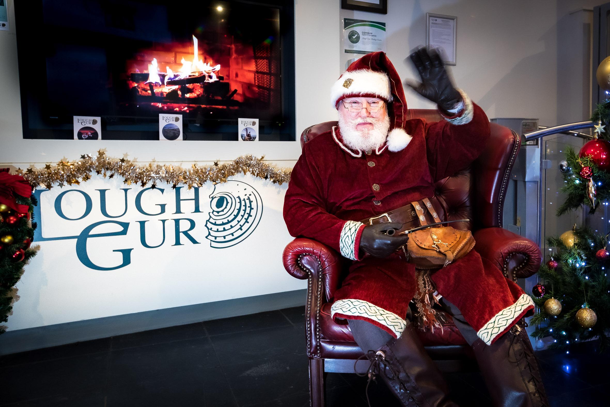Lough Gur Santa