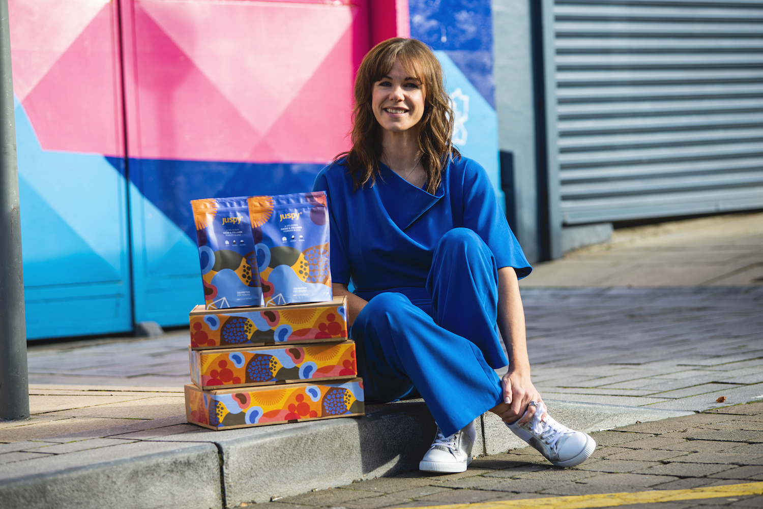 Limerick woman, Leonie Lynch, founder of Juspy functional foods
