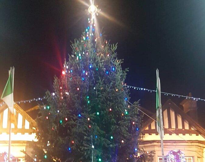 Adare Village Christmas Tree