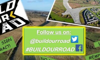 Build Our Road Campaign is vital to the physical, social, and economic fabric of the Moyross community