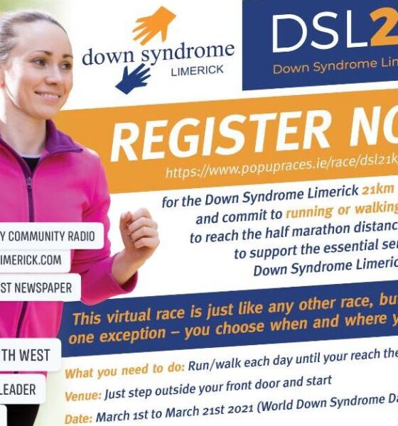 Down Syndrome Limerick DSL21K