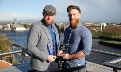 Odyssey Studios Limerick have been announced as a finalist for this year's National Enterprise Awards. Pictured above are Mark Maher and Ciaran Cooke, Odyssey Studios. Picture: Paul Mullins Photography